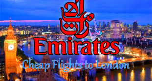 Emirates Airlines Flights to London